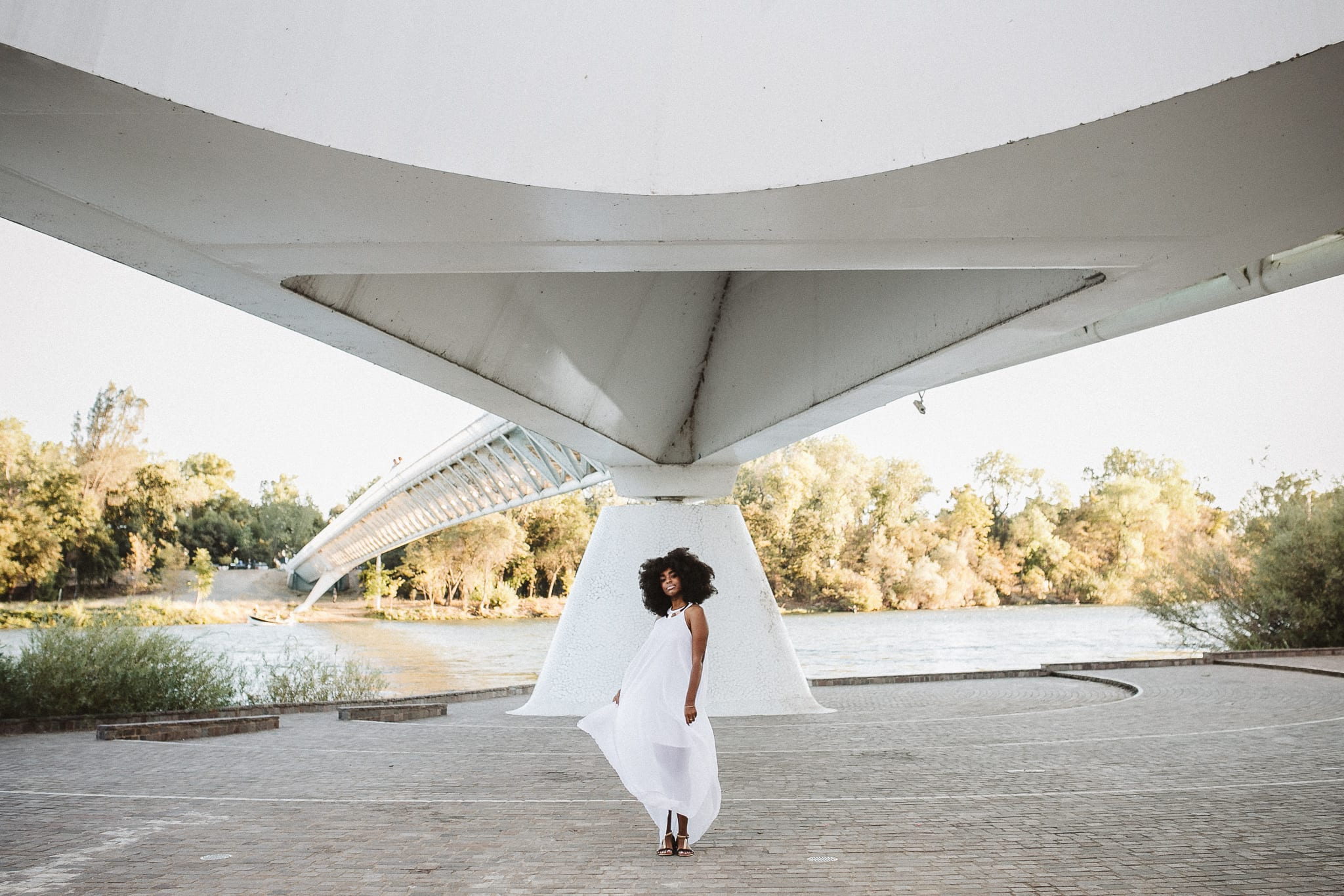 sundial-bridge-california-portrait-photographer-black-afro-queen-birthday-1