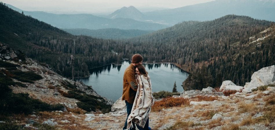 Holly & Teddy | Heart Lake Castle Lake Mt. Shasta