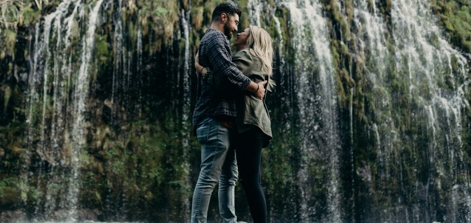 Jordan & Molly | Dunsmuir CA Mossbrae Falls NorCal Engagement Photographer