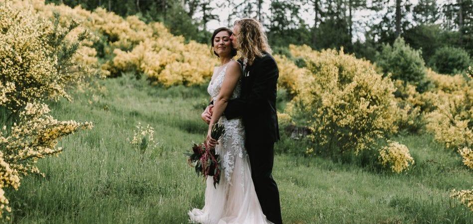 Zach & Mika | Backyard Portland Oregon Wedding Photographer