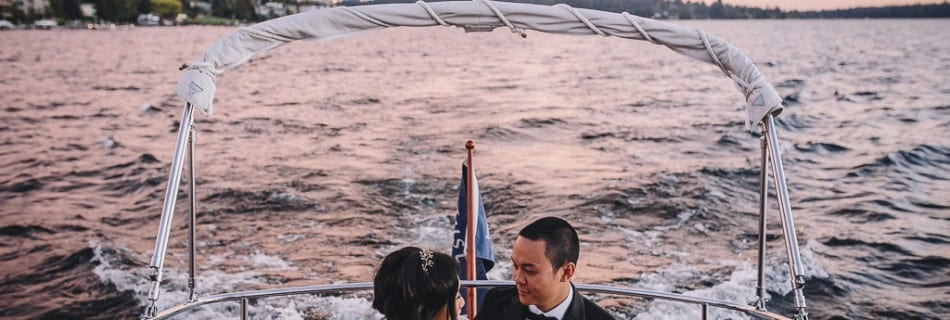 Victor + Kayley | Woodmark Hotel Kirkland WA Wedding Photographer