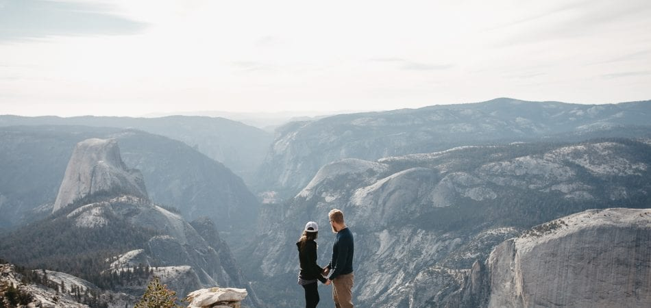 Clouds Rest Yosemite | California Adventure Engagement Photographer