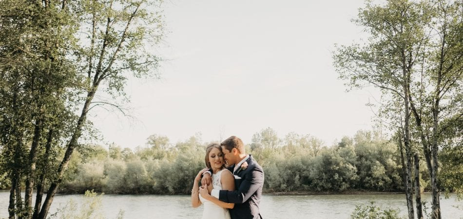 Ben + Erin | Backyard Wedding Redding California Photographer