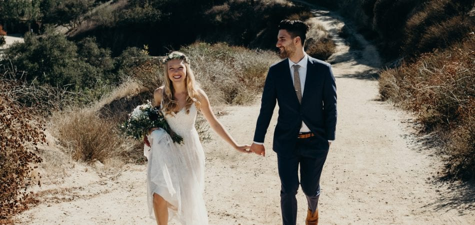 Jake & Lacey | Pasadena LA California Backyard Wedding Photographer