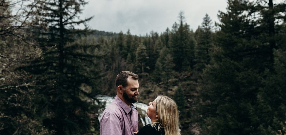 Kara & Kmo | Burney Falls California Engagement Photographer
