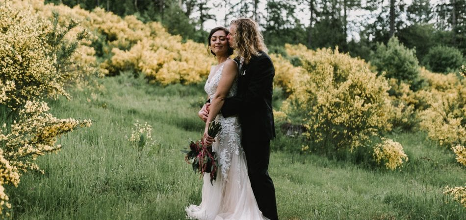 Zach & Mika | Backyard Portland Oregon Wedding Photographer