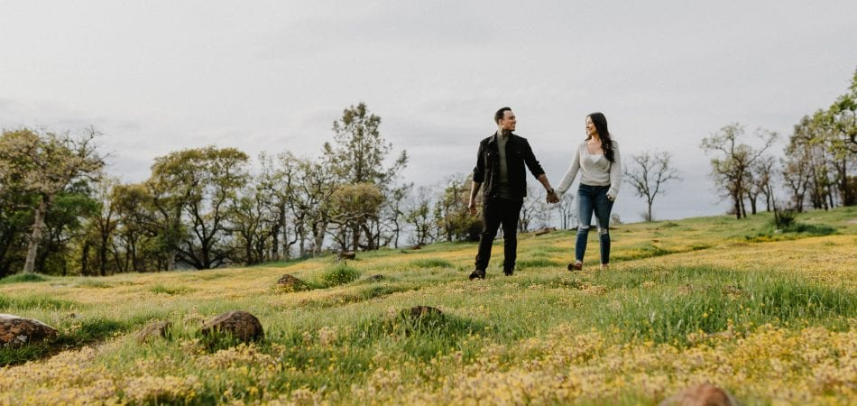 Daniel & Cassandra | Peregrine Point Chico California Engagement Photographer