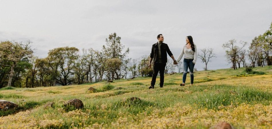 Daniel & Cassandra | Peregrine Point Chico California Engagement Photographer