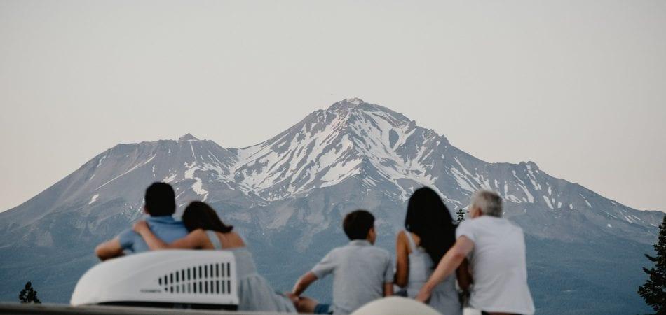 Mt Shasta Castle Lake Family Photographer