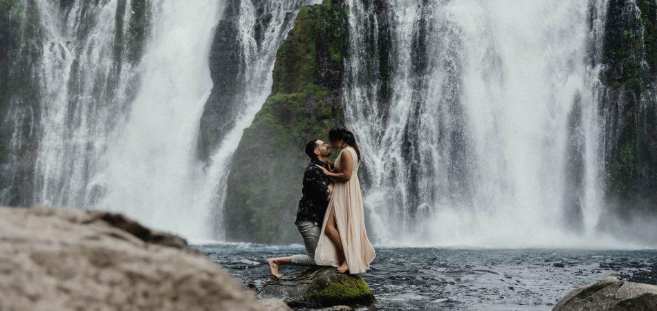 Burney Falls CA | Engagement Photographer